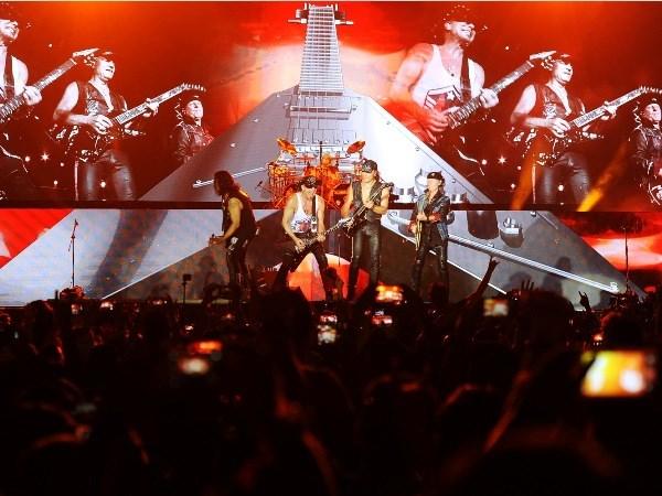 Scorpions khep man Monsoon 2016:
