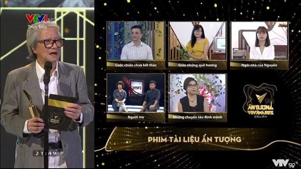 Hong Diem, Xuan Nghi gianh Dien vien an tuong tai VTV Award 2020 hinh anh 6