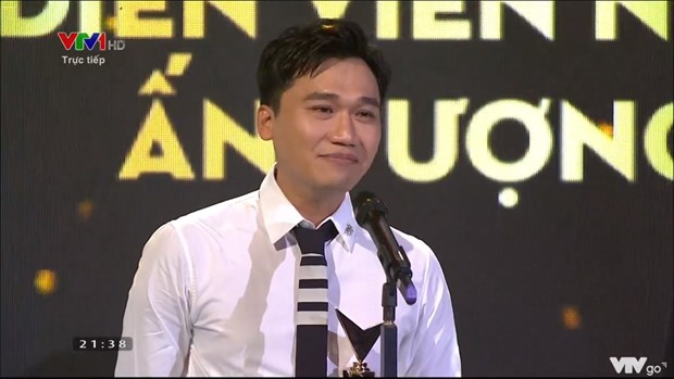 Hong Diem, Xuan Nghi gianh Dien vien an tuong tai VTV Award 2020 hinh anh 2