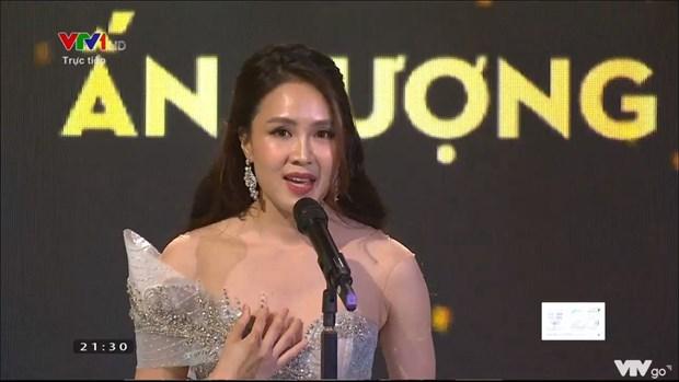 Hong Diem, Xuan Nghi gianh Dien vien an tuong tai VTV Award 2020 hinh anh 1