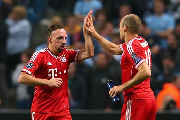 Lewandowski, Robben va Ribery tiep tuc gan bo voi Bayern hinh anh 2
