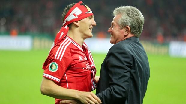 Thu Schweinsteiger gui HLV Jupp Heynckes nhan sinh nhat 75 tuoi hinh anh 1