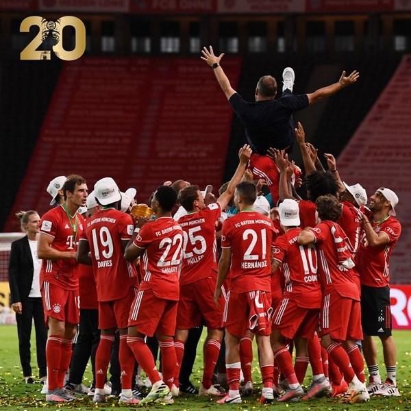 10 cot moc dang nho cua FC Bayern Munich tai chien thang DFB Cup hinh anh 1