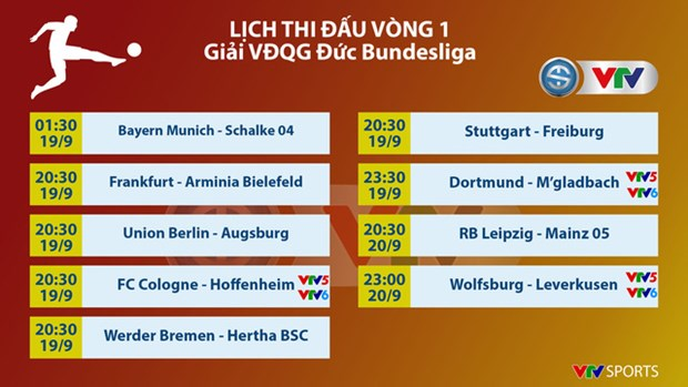 Giai bong da Vo dich Duc Bundesliga se duoc VTV truyen hinh truc tiep hinh anh 2
