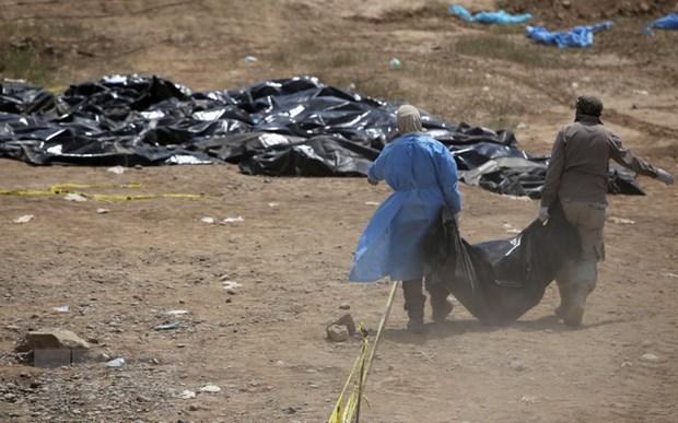 Iraq: Phat hien 158 thi the trong mot ho chon tap the o Tikrit hinh anh 1