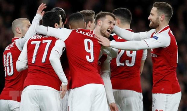 De bep CSKA, Arsenal dat mot chan vao ban ket Europa League hinh anh 1