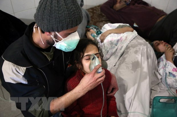 Syria bac cao buoc su dung vu khi hoa hoc tai Douma hinh anh 1