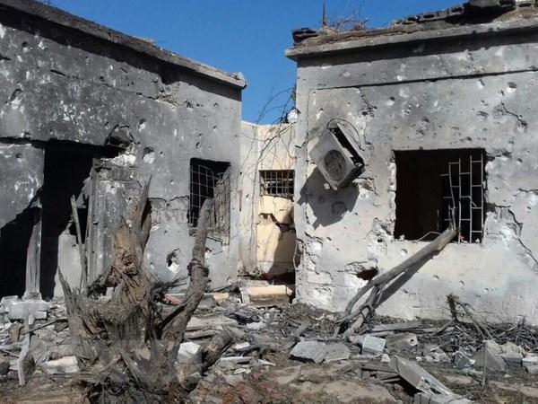 Quan doi Libya day nhanh chien dich giai phong thanh pho Darna hinh anh 1
