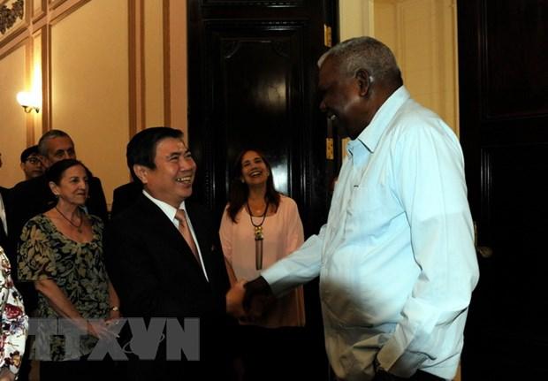 Cuba danh gia cao kinh nghiem phat trien cua Thanh pho Ho Chi Minh hinh anh 1