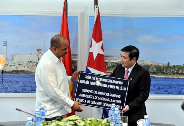 Cuba danh gia cao kinh nghiem phat trien cua Thanh pho Ho Chi Minh hinh anh 3