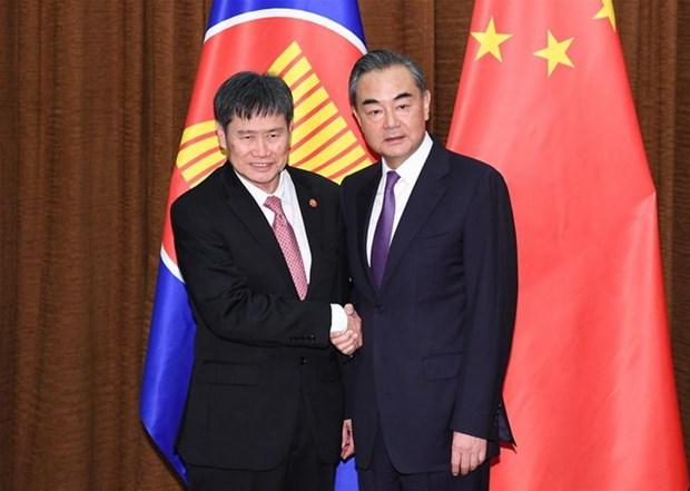 Trung Quoc va ASEAN huong toi cong dong gan bo chat che hon hinh anh 1