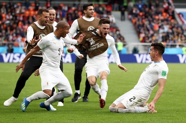 Uruguay moi lan dau thang tran ra quan World Cup tu nam 1970 hinh anh 1