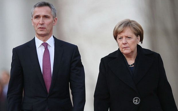Lanh dao NATO va Duc tin tuong vao tinh doan ket cua khoi hinh anh 1