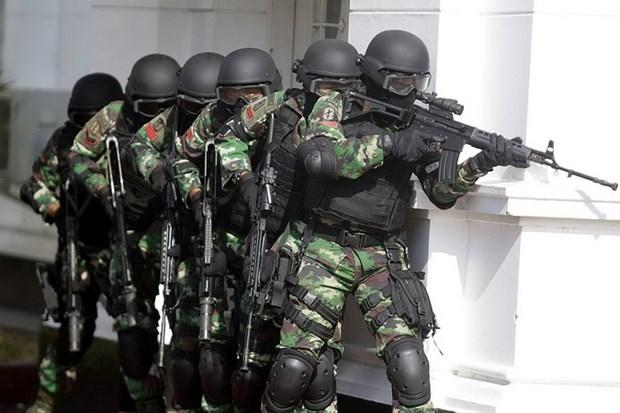 Indonesia bat giu 10 nghi can khung bo trong dip nghi le Eid al-Fitr hinh anh 1