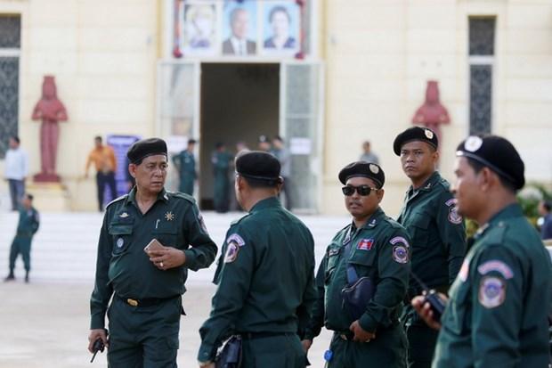 Campuchia that chat an ninh trong cuoc bau cu Quoc hoi hinh anh 1