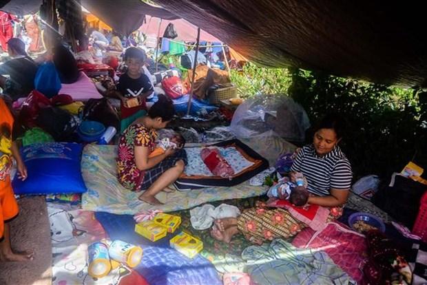 Hang nghin nan nhan tai Indonesia duoc dua toi Nam Sulawesi hinh anh 1