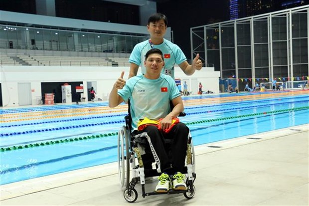 Asian Para Games 2018: Doan Viet Nam gianh them bon huy chuong hinh anh 1