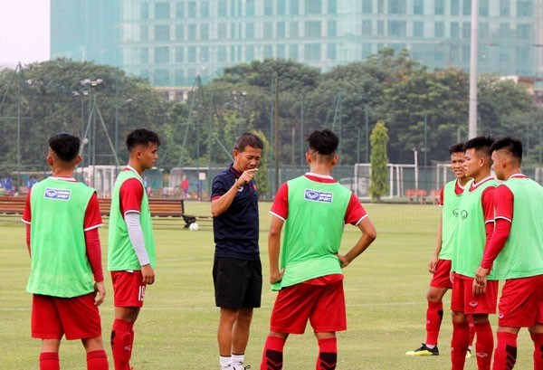 An ninh that chat cho tran dau giua U19 Viet Nam gap U19 Jordan hinh anh 1