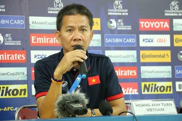 U19 Viet Nam: HLV Hoang Anh Tuan tu hao voi cac hoc tro hinh anh 1