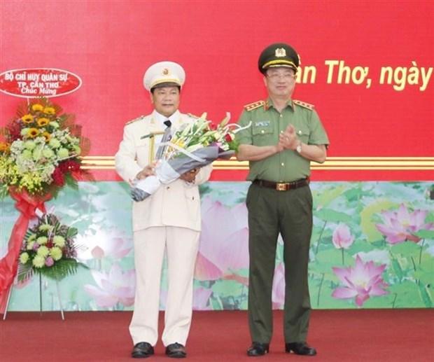 Dai ta Nguyen Van Thuan lam Giam doc Cong an thanh pho Can Tho hinh anh 1