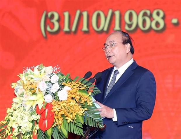 Thu tuong Nguyen Xuan Phuc du Le ky niem 50 Chien thang Truong Bon hinh anh 2