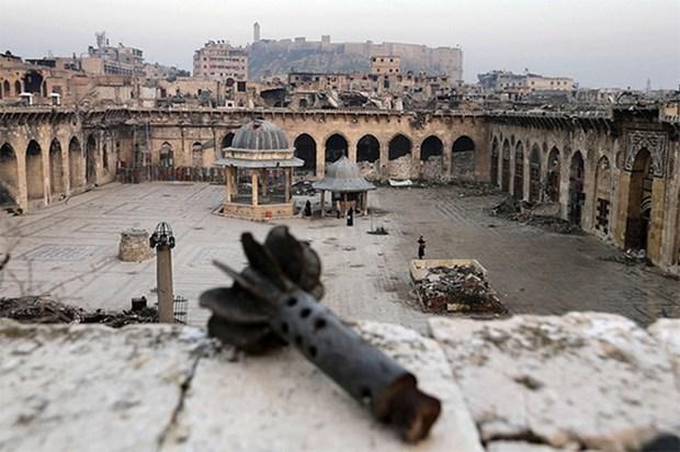 Giao tranh gia tang tai khu phi quan su o Tay Bac Syria hinh anh 1
