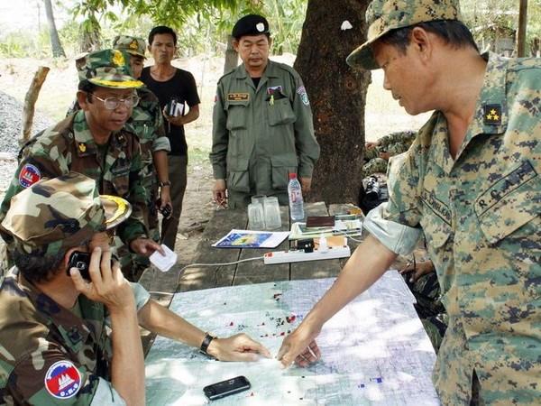 Campuchia khong cho phep nuoc ngoai lap can cu quan su tren lanh tho hinh anh 1