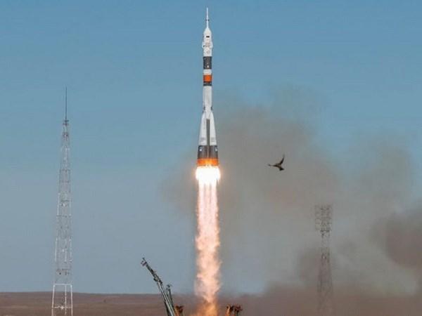 Nga phong thanh cong ten lua day Soyuz lan dau sau su co thang 10 hinh anh 1