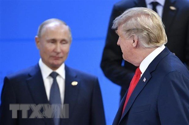 My: Se khong co cuoc gap Trump-Putin khi Nga van giu tau Ukraine hinh anh 1