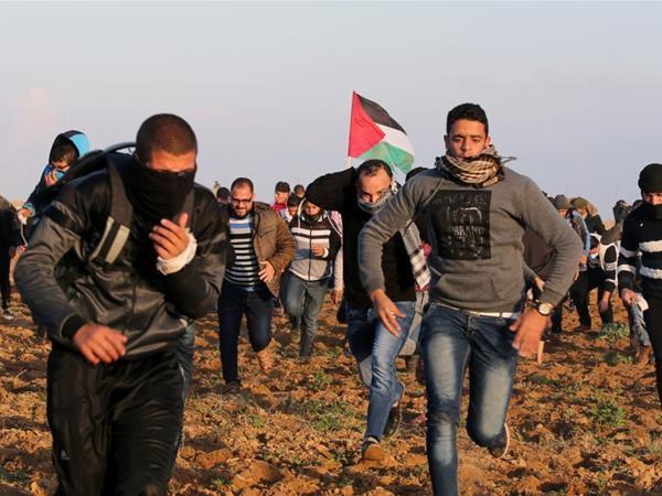 Lai xay ra dung do doc Dai Gaza, them mot nguoi Palestine bi ban chet hinh anh 1