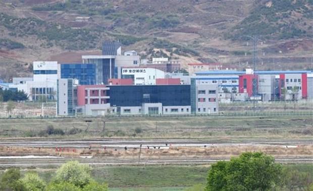 Doanh nghiep Han Quoc hoan nghenh mo lai khu cong nghiep chung Kaesong hinh anh 1
