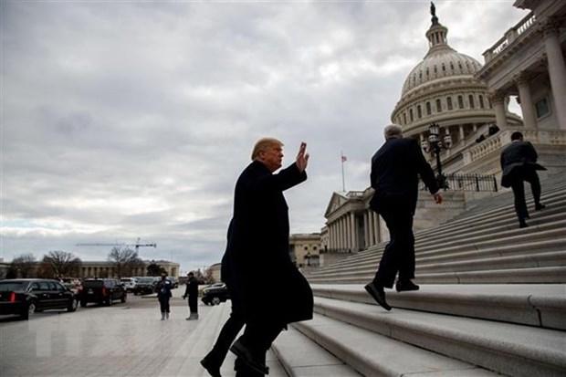 My: Tong thong Donald Trump hoan tuyen bo tinh trang khan cap hinh anh 1