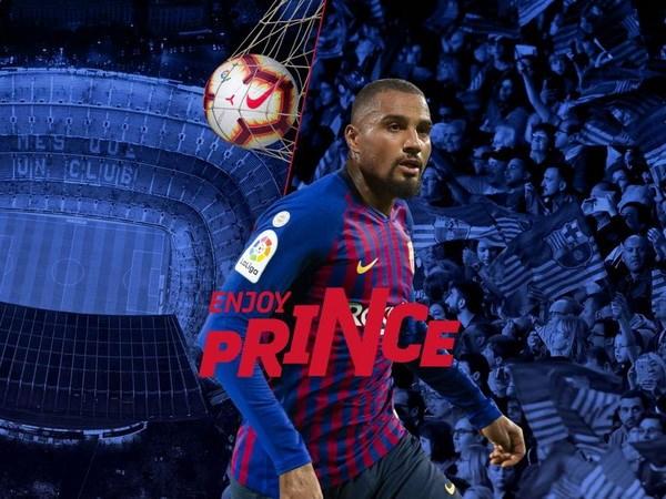 Barcelona khien ca thi truong sung sot khi chieu mo Kevin Boateng hinh anh 1