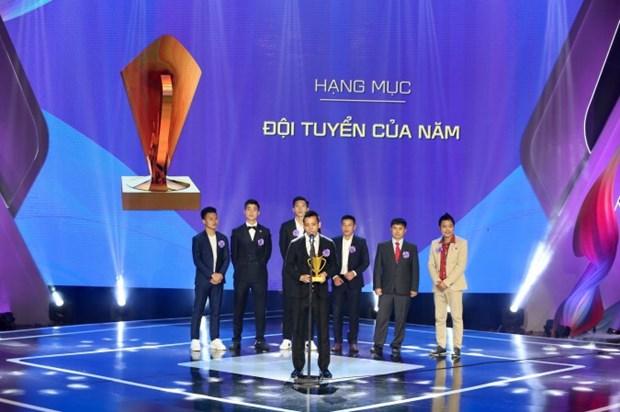 Gala Cup Chien thang 2018 ton vinh cac VDV rang danh the thao Viet Nam hinh anh 1