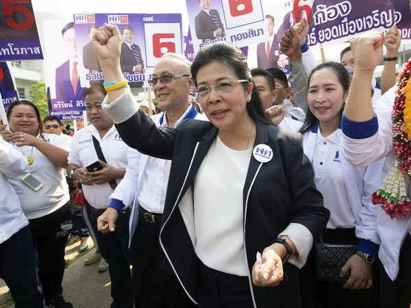 Thai Lan: Hang nghin ung cu vien dang ky tham gia tranh cu hinh anh 1