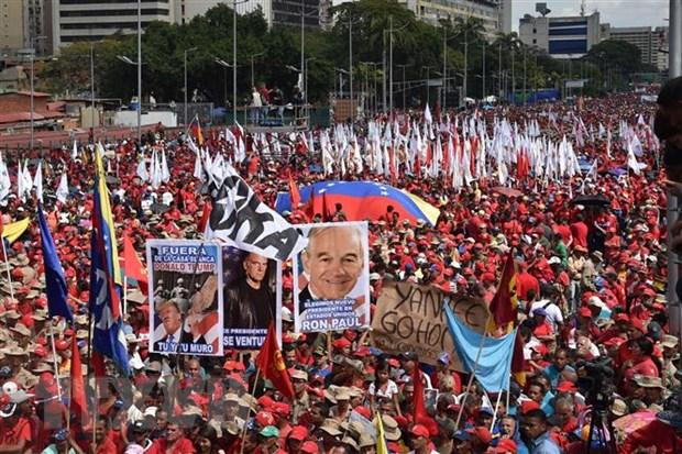 Mexico va Uruguay cong bo lo trinh doi thoai chinh tri Venezuela hinh anh 1