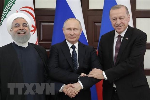 Nga muon cung Tho Nhi Ky va Iran xay dung ke hoach chung o Syria hinh anh 1