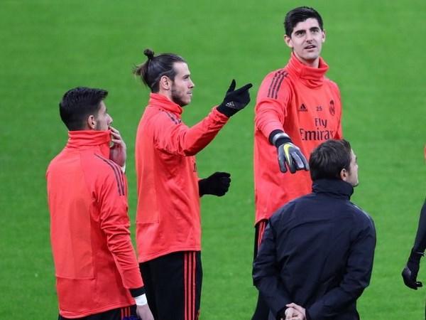 Gareth Bale tiep tuc bi Thibault Courtois chi trich la thieu hoa dong hinh anh 1