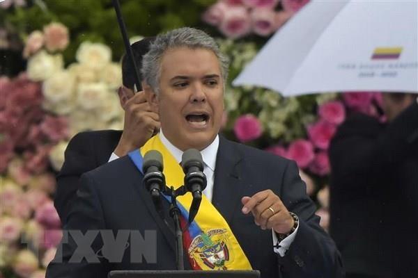 Tong thong Colombia phu quyet mot phan luat ve co che tu phap hoa binh hinh anh 1