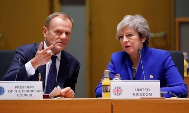 Chu tich EC: Anh chap thuan ke hoach lui thoi diem Brexit hinh anh 1