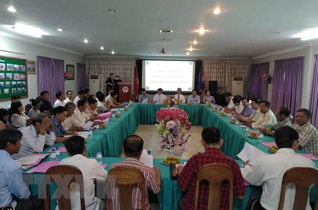 Hoi Khmer-Viet Nam tang cuong ho tro Viet kieu tai Campuchia hinh anh 1