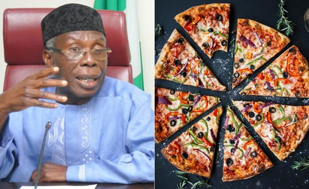 Dan Nigeria thi nhau dat banh pizza tu Anh de 'the hien dang cap' hinh anh 1