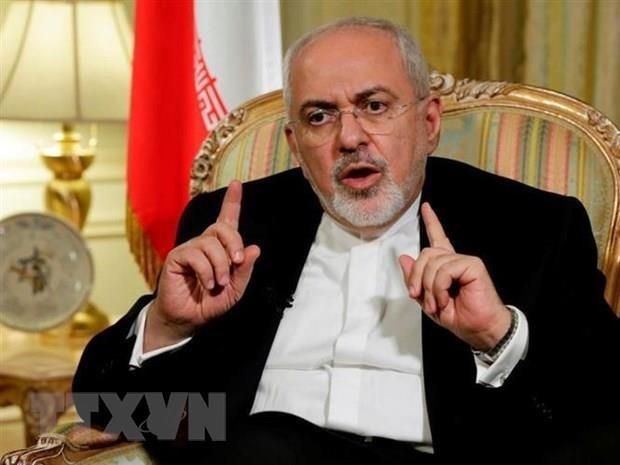 Iran tiep tuc ra tuyen bo chi trich cac lenh trung phat cua My hinh anh 1