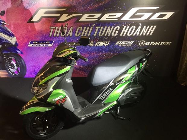 Yamaha Motor Viet Nam gioi thieu mau tay ga hoan toan moi FreeGo 125 hinh anh 1