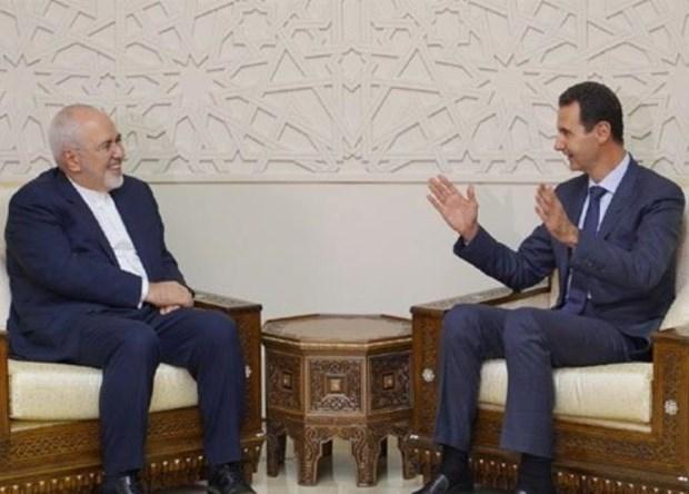 Syria va Iran thao luan ve giai phap chinh tri cho Syria hinh anh 1