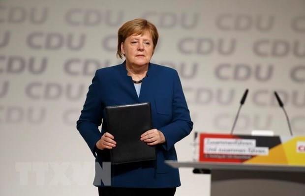 Duc: Lien dang bao thu CDU-CSU khoi dong chien dich bau cu chung hinh anh 1