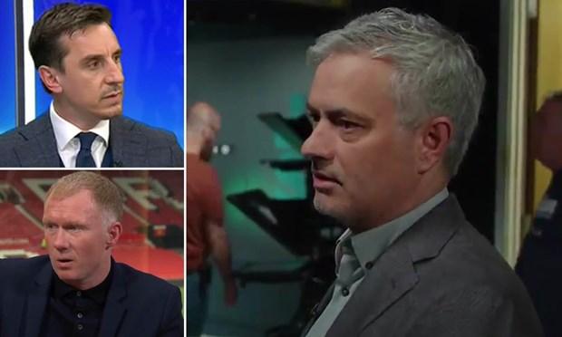 Truoc song truyen hinh, Jose Mourinho ''da xoay'' cac cuu sao MU hinh anh 1