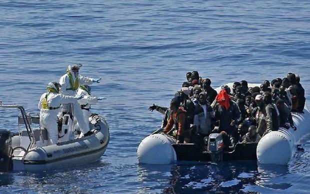 Maroc va Malta giai cuu hon 200 nguoi di cu tren bien hinh anh 1