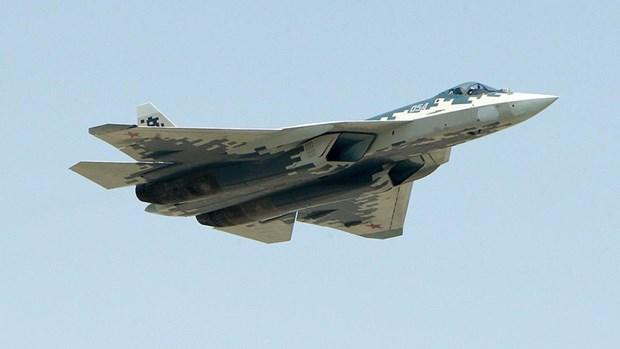 [Video] Chuyen co Tong thong Nga duoc may bay Sukhoi Su-57 ho tong hinh anh 1