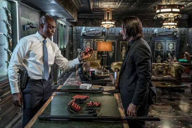 ''John Wick 3'' he lo ve mot cuoc chien tranh trong the gioi ngam hinh anh 1